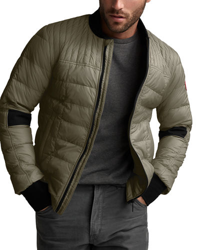 Men's Dunham Quilted Zip-Front Jacket