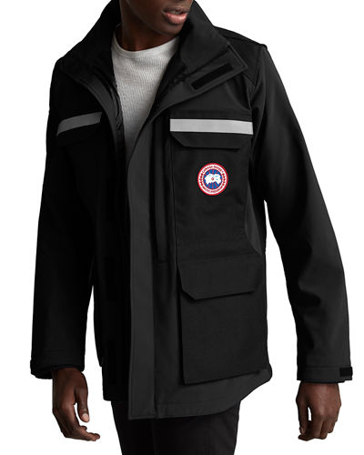 Men's Photojournalist Zip Front Jacket