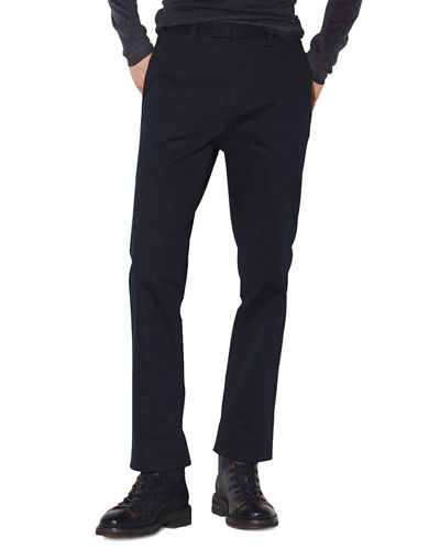 Men's Regular-Fit Tapered Chino Pants