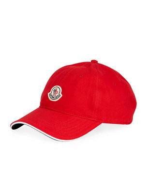 Moncler Men s Small-Logo Baseball Cap 84484c15df2