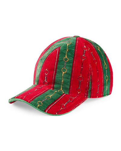 27bfe3a21d8aa1 Quick Look. Gucci · Men's Printed Chenille Baseball Hat
