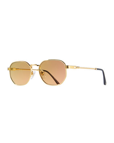 Men's Detroit Player Gold-Plated Sunglasses