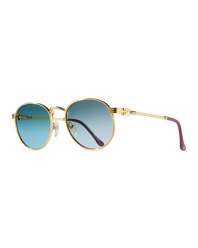 a787c3b58b8 Golden Metal Frames Sunglasses