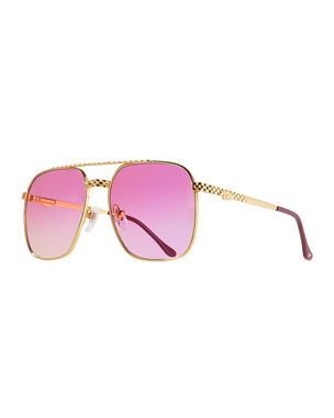 a918f054f8 Vintage Frames Company Men s Masterpiece XL Gold-Plated Sunglasses.  Favorite. Quick Look
