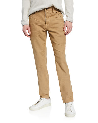 Men's Sartor Relaxed Skinny Twill Pants