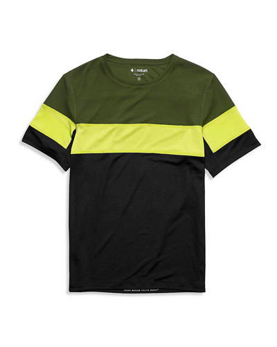 Fourlaps Men's Colorblock Smash T-Shirt