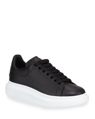 9a0a9e9c3dd8 Alexander McQueen Men s Bicolor Leather Low-Top Sneakers