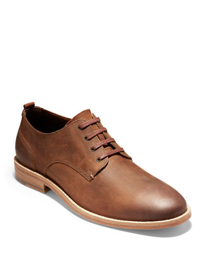 Men's Feathercraft Suede Oxford Shoes