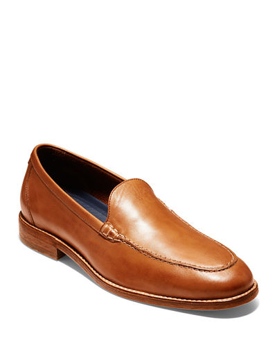 Men's Feathercraft Grand Venetian Suede Loafers