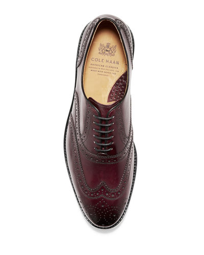 Cole Haan Men's Kneeland Brogue Cap-Toe Oxfords