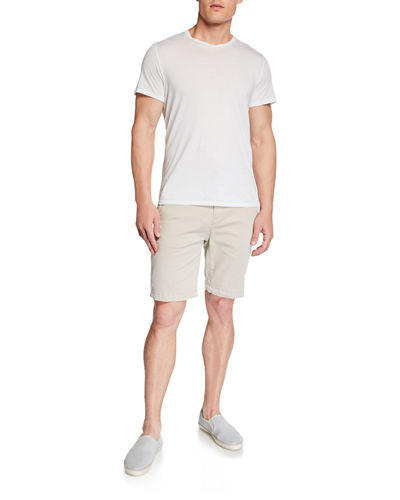 7 For All Mankind Men's Stretch-Chino Shorts