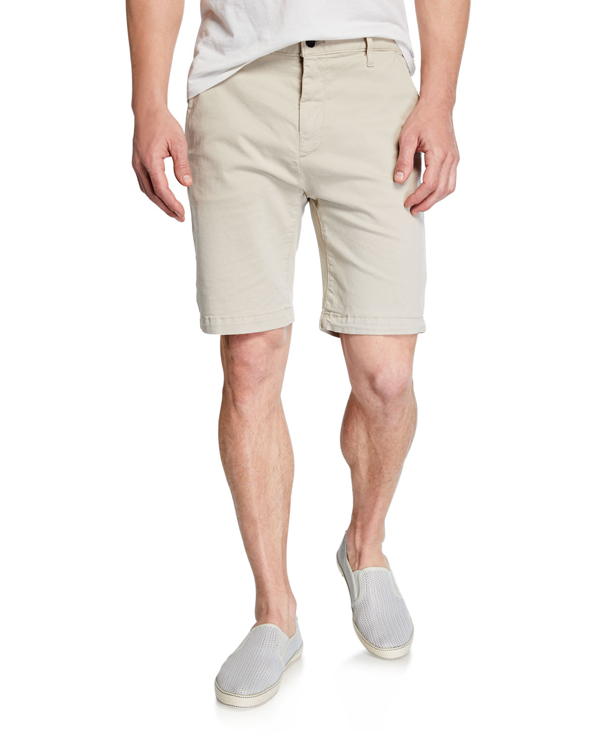7 For All Mankind Shorts MEN'S STRETCH-CHINO SHORTS