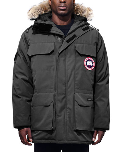 Men's Expedition Hooded Parka Coat