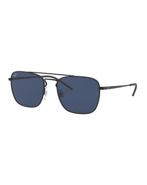 bdb20a07ff Ray-Ban Men s Square Aviator Sunglasses - Solid