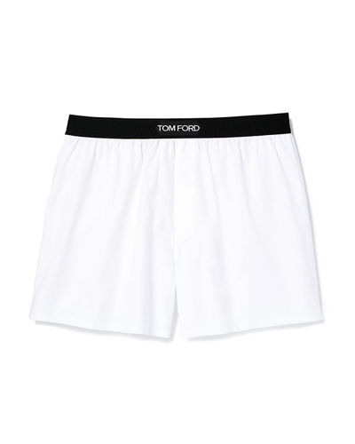 TOM FORD Men's Logo-Band Boxers