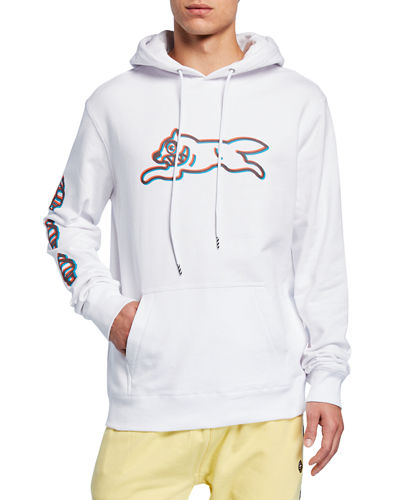 Men's Chocolate Graphic Pullover Hoodie