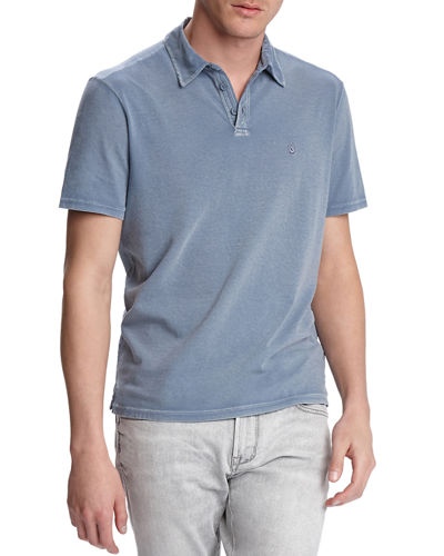 Men's Knoxville Pigment Rub Polo Shirt
