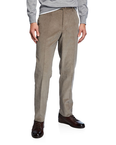 Men's Fine Wale Corduroy Pants
