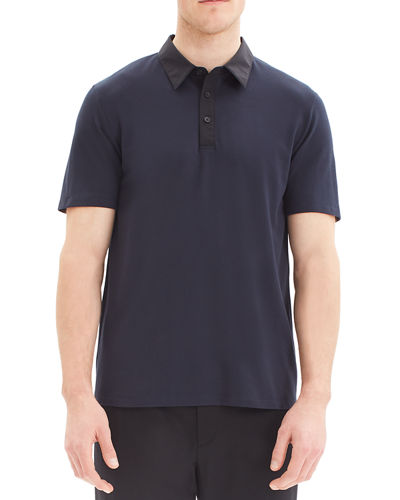 Men's Tech Function Pique Polo Shirt
