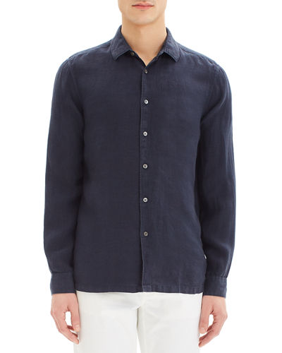 Men's Murray Summer Linen Long-Sleeve Sport Shirt