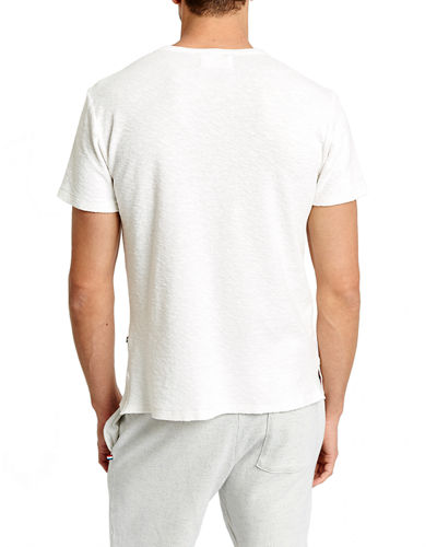Sol Angeles Men's Loop Terry Crewneck Short-Sleeve Tee