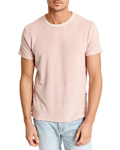 Men's Loop Terry Crewneck Short-Sleeve Tee