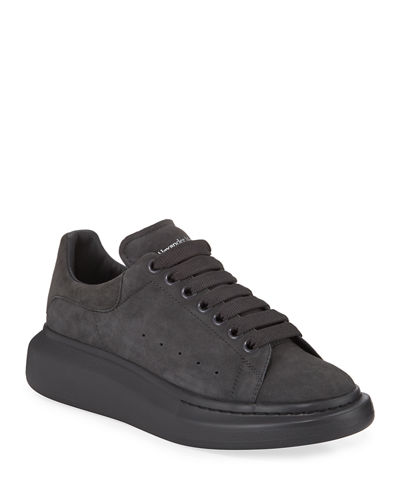 Men's Larry Tonal Suede Trainer Sneakers