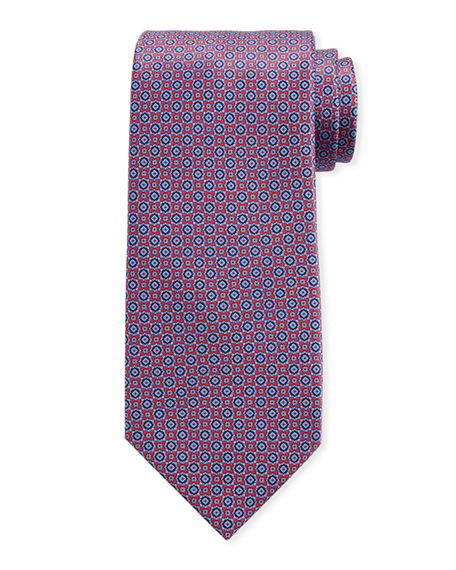 Stefano Ricci Men's Medium Medallion Silk Tie