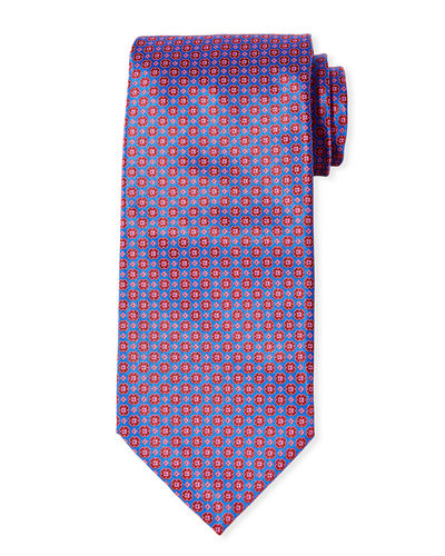 Men's Multi-Print Silk Tie