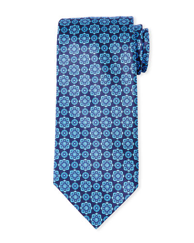 Men's Octagons Silk Tie