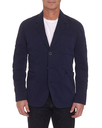 Robert Graham Men's Cape South Three-Button Jacket