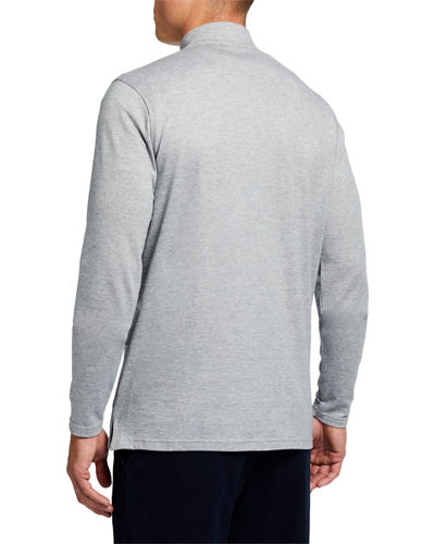 Peter Millar Men's Charlton Cashmere Quarter-Zip Sweater