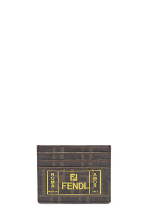 Fendi Men's FF Roma Amor Card Case