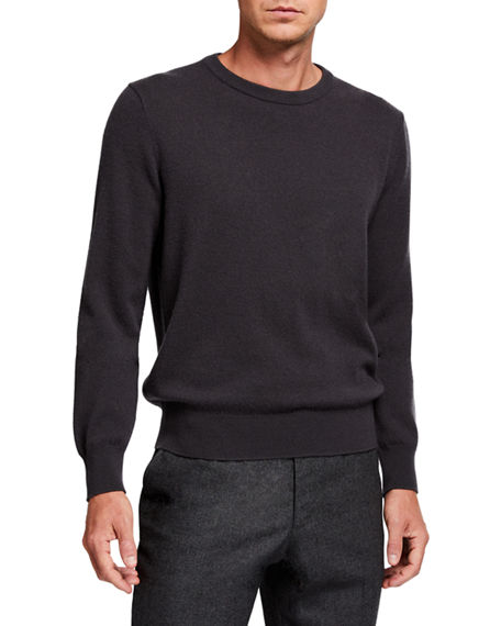 THE ROW Men's Benji Crewneck Cashmere Sweater