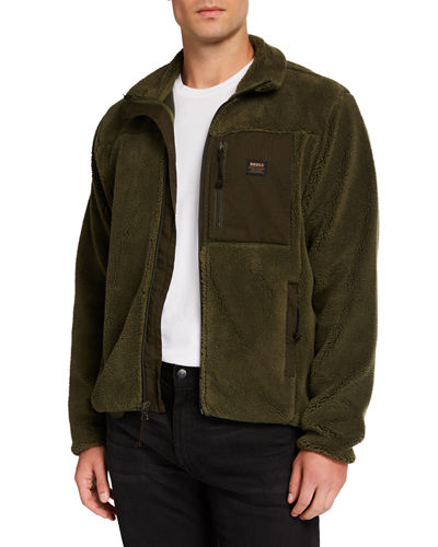 Men's Fletcher Fleece Zip-Front Jacket