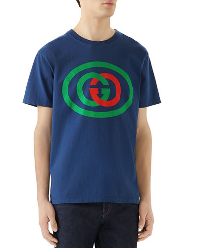 Gucci Men's GG Logo T-Shirt