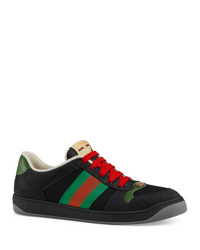 Men's Screener Low-Top Lace-Up Sneakers