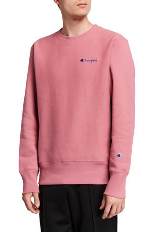 Champion Europe Men's Logo-Embroidery Sweatshirt