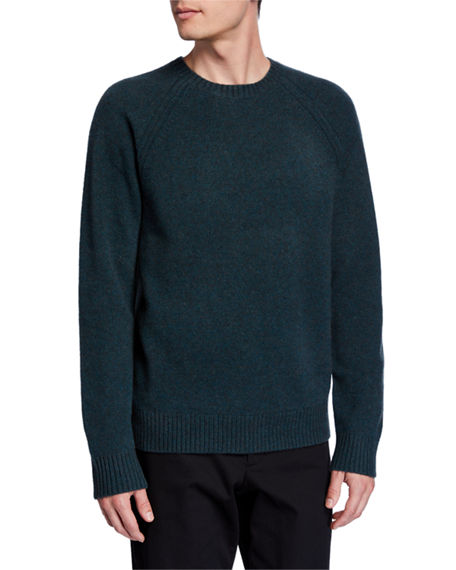 Vince Men's Crewneck Raglan Long-Sleeve Sweater