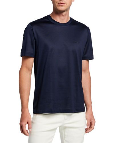 Men's Solid Cotton T-Shirt