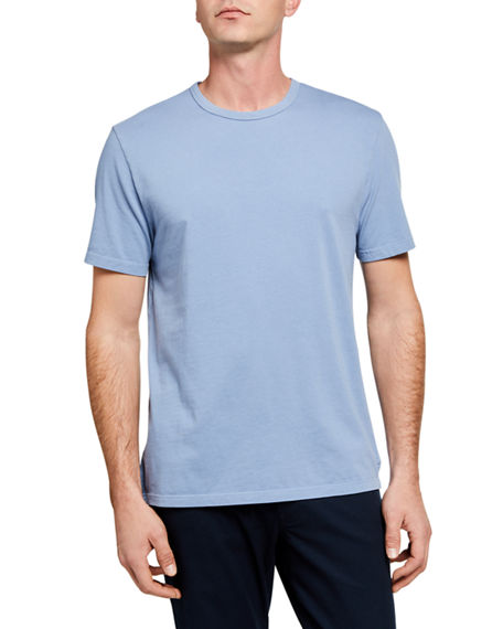 Vince Men's Garment-Dyed Crewneck T-Shirt