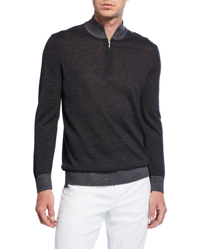 Men's Rothley Quarter-Zip Sweater