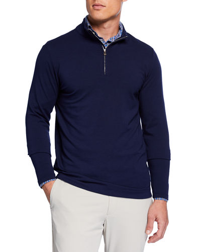Men's Ace Crown Crafted Quarter-Zip Sweater