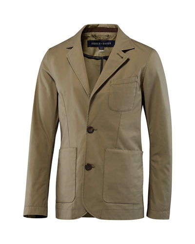 Fisher + Baker Men's Thompson Two-Button Jacket