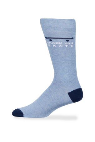 Neiman Marcus Men's Skate Graphic Cotton Socks
