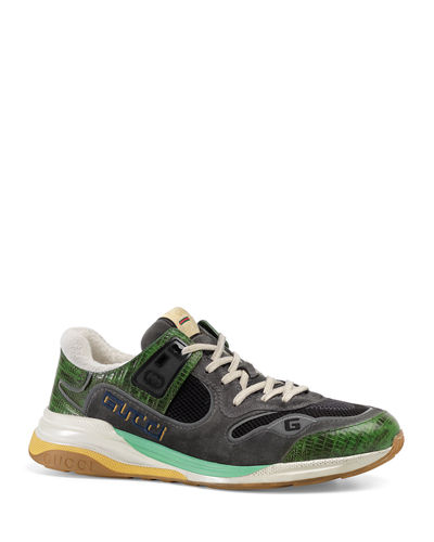 Men's UltraPace Mixed-Material Sneakers