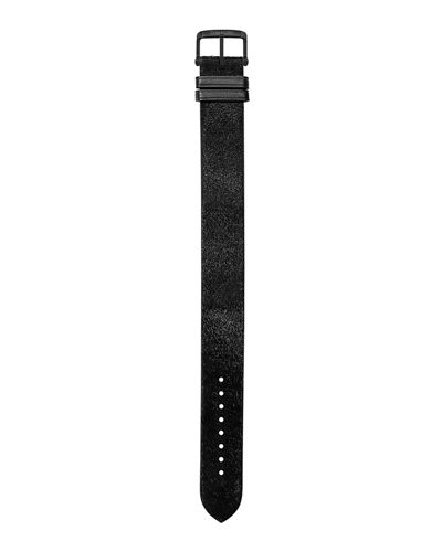 Medium Calf Hair Leather Strap