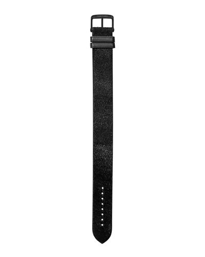 Large Calf Hair Leather Strap