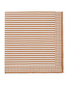 Brunello Cucinelli Men's Thin Stripes Pocket Square