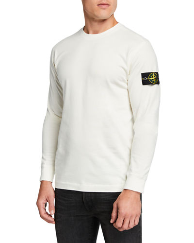 Men's Crewneck Cotton Sweatshirt